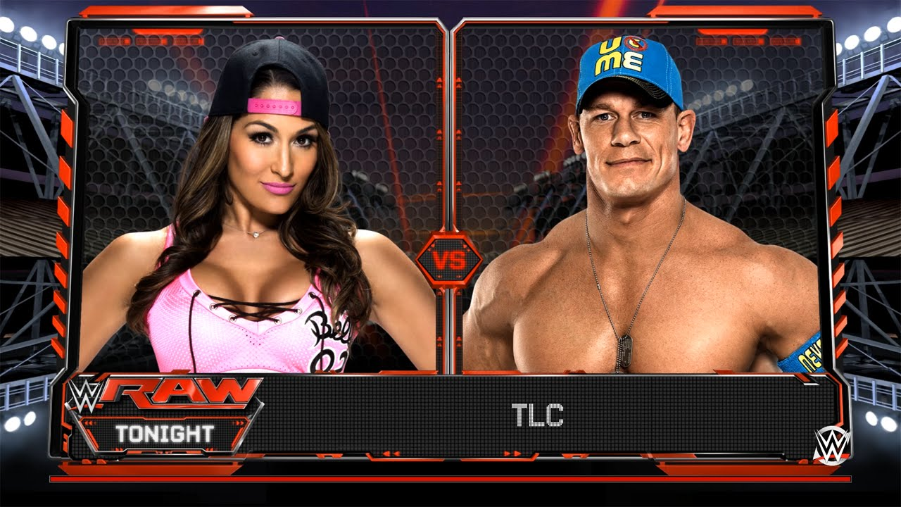 WWE 2K17 - John Cena VS Nikki Bella | Concept Match Type ...