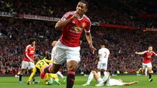Anthony Martial's Debut First Goal for Manchester United vs Liverpool 2015 HD