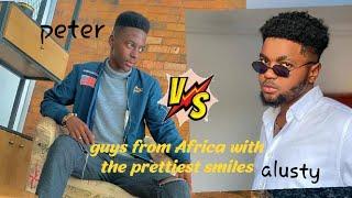 Guys on tiktok with the prettiest smiles Africa (peter frm Sierra???????? Leone/ alustysheen from Ghana????????)