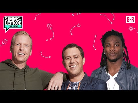 Chris Johnson: NFL Rigged John Ross' 40 Time At Combine | Simms & Lefkoe: The Show S1E18