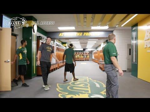 NDSU Athletics Unveils New Football Locker Room