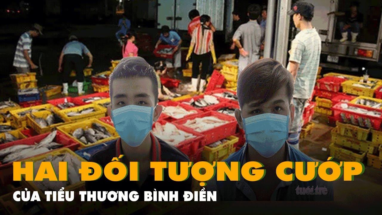 Bắt 2 thanh niên dùng súng điện cướp tiền của tiểu thương chợ Bình Điền