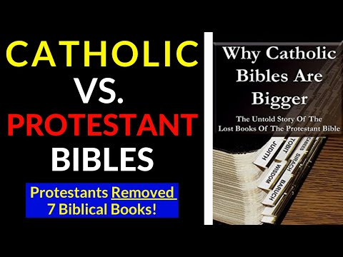 Difference between Catholic and Protestant Bibles (7 Books)