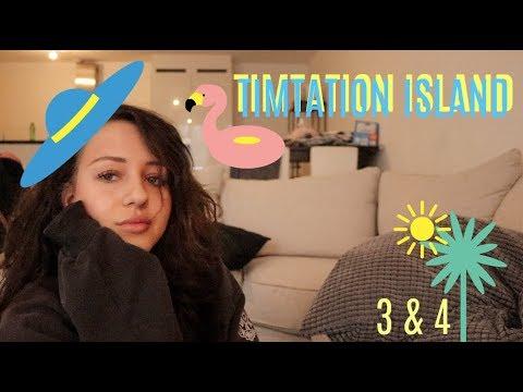 REAGEREN OP TEMPTATION ISLAND #3 & #4