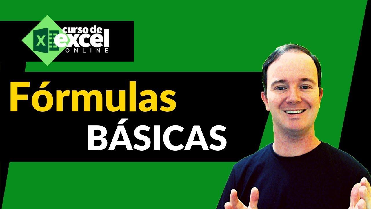 Fórmulas e Funções Básicas do EXCEL
