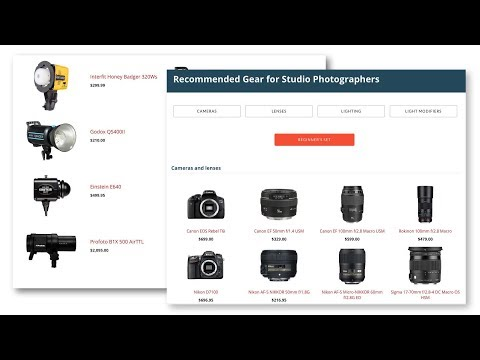 How to setup your first studio: recommended gear for product photographers