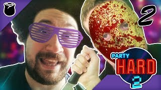 Party Hard 2 part 2: Party Harder (PC Gameplay)