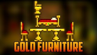 Terraria - New Gold Furniture From Pirate Invasion