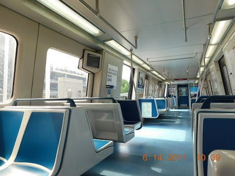 🚇/💺 MARTA: Atlanta Subway (Blue Line) -- FULL RIDE!