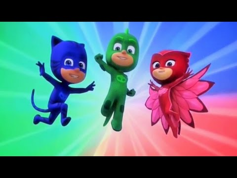 Сборник третьи 5 серий Герои в масках мультфильм для детей