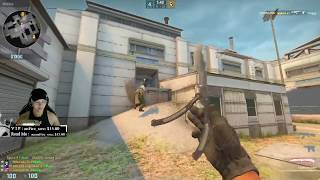 CS:GO - Cheater Toggles on Stream and Talks About Cheating ESEA and Overwatch!