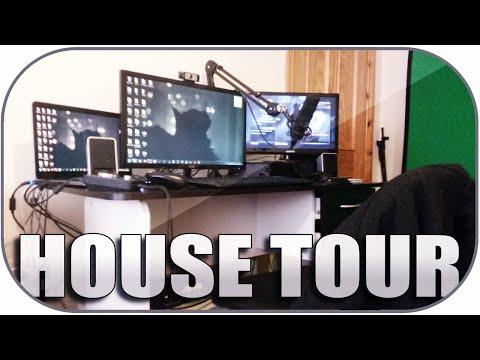 Daithi De Nogla House Tour!