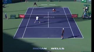 Indian Wells 2019 Men's Doubles Semi Final Kubot/Melo VS Djokovic/Fognini