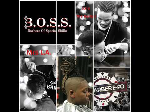 "B O S S  ""Barbers of Special Skills"" Will Be At The LV Barber Expo 2019"