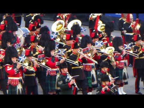 The Massed British Military Bands, The Royal Edinburgh Military Tattoo 2016