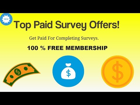 Top Paying Survey Offers