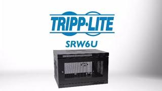 Tripp Lite 6U Wall Mount Rack Enclosure Cabinet SRW6U