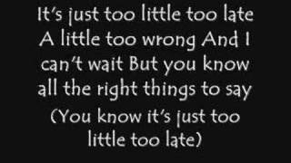 Jojo-Too Little Too Late *With Lyrics*