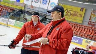 Анатолий Степанищев о поэтичном хоккее в исполнении Донбасса в игре с Дженералз