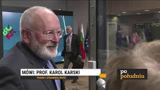 K. KARSKI - WYSTĄPIENIE D.TUSKA NA UW I KONTROWERSYJNE SŁOWA JAŻDŻAWSKIEGO