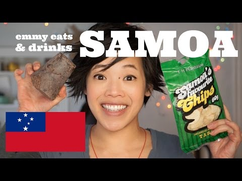 Emmy Eats (& Drinks) Samoa - Koko Samoa | an American tastes Samoan treats