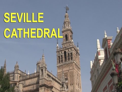 Seville Cathedral, in Andalucia, Spain