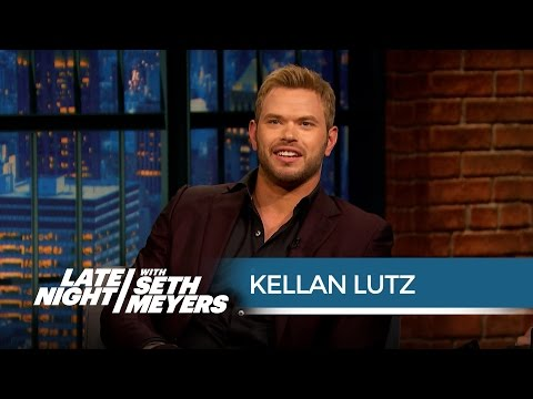 Kellan Lutz Is an Accomplished Inventor  Late Night with Seth Meyers