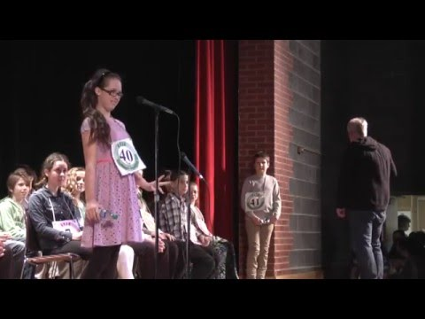 CVES Spelling Bee part one  3-4-16
