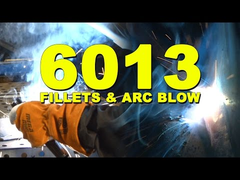 6013 Welding Tips and Tricks and Arc Blow Demo | MIG Monday