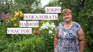 Обзор Моего Участка. Цветы в Саду.