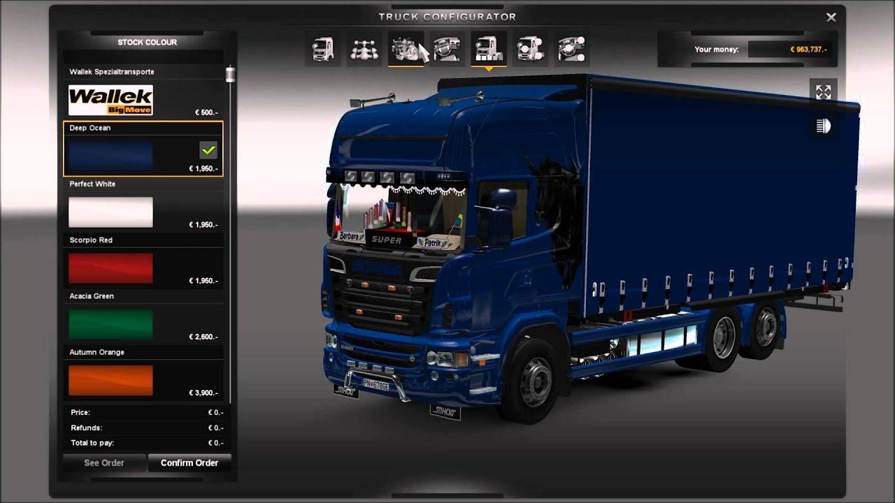 Моды для evrotrucks simulator 2