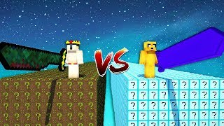 DESAFÍO DE LOS LUCKY BLOCKS NOOBS VS LUCKY BLOCKS PROS 😂❓ thumbnail