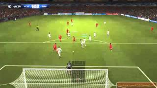 PES 2014 AC Milan  vs FC Bayer Munchen pc gameplay. HD