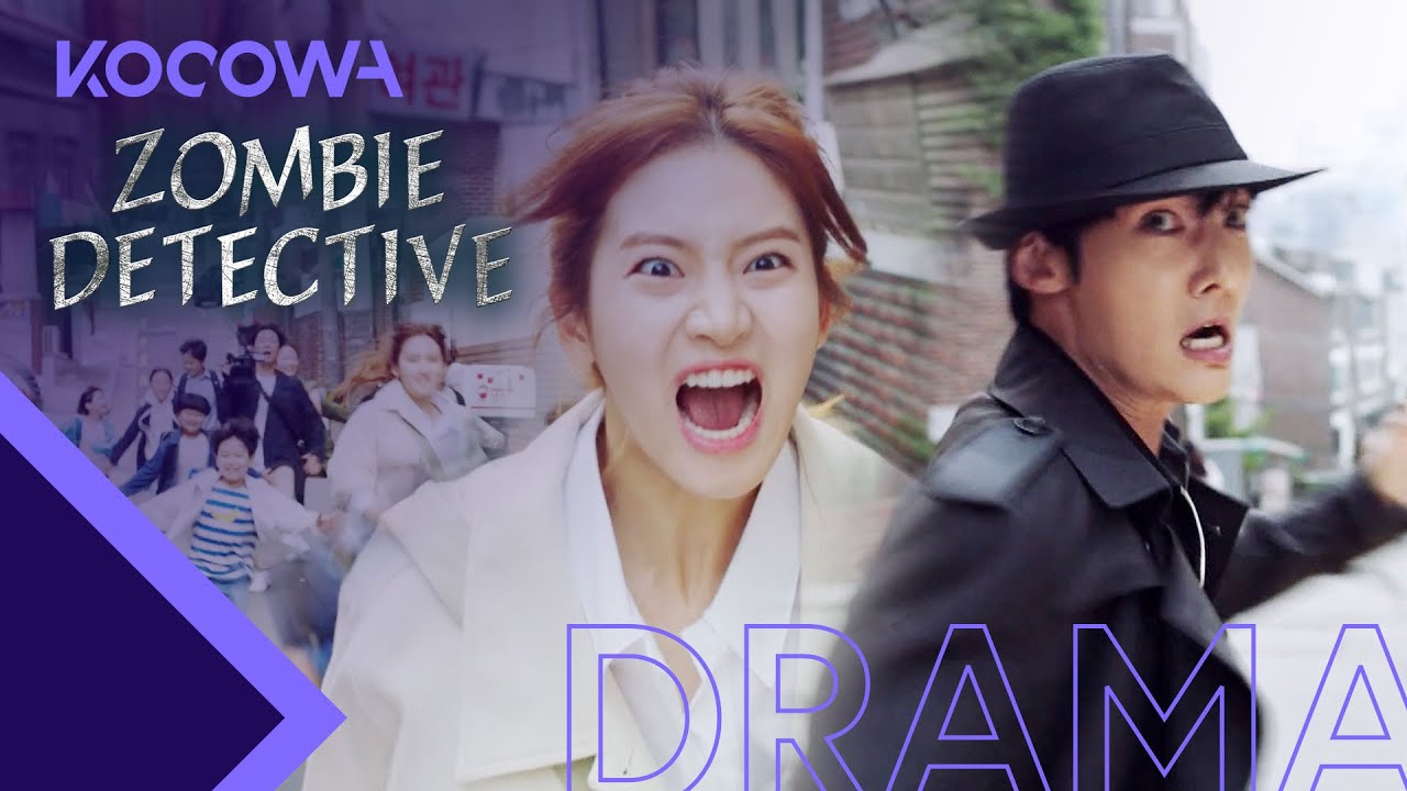 Download Park Ju Hyun thinks Choi Jin Hyuk is a pervert [Zombie Detective Ep 1]
