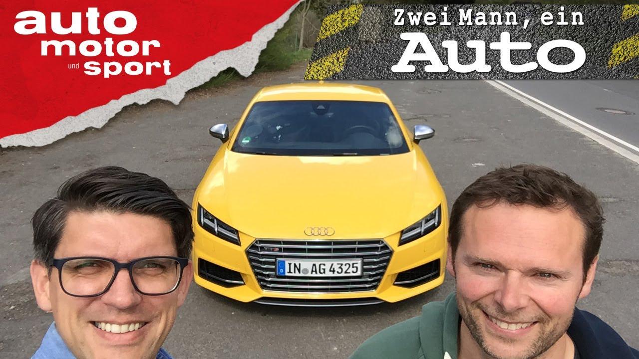 Audi TTS  - Zwei Mann, ein Auto | auto motor und sport