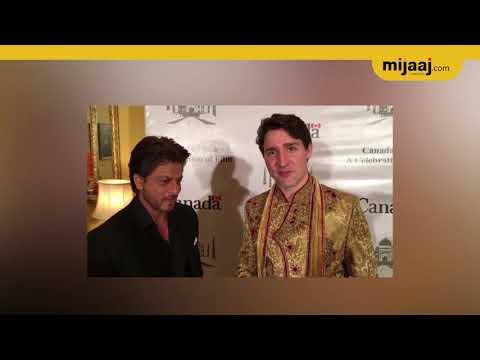 Justine Trudeau meets Shahrukh Khan at Canandan –India Business forum | Mijaaj News