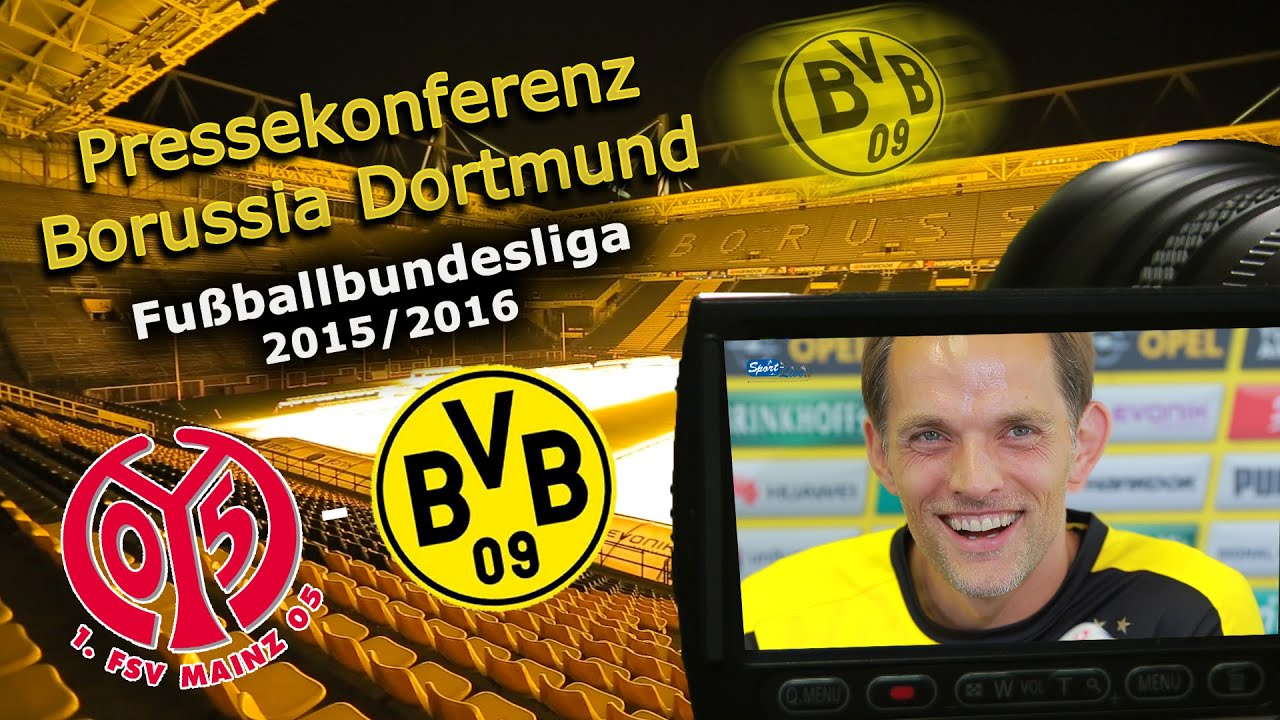 1. FSV Mainz 05 - Borussia Dortmund: Pressekonferenz mit Thomas Tuchel