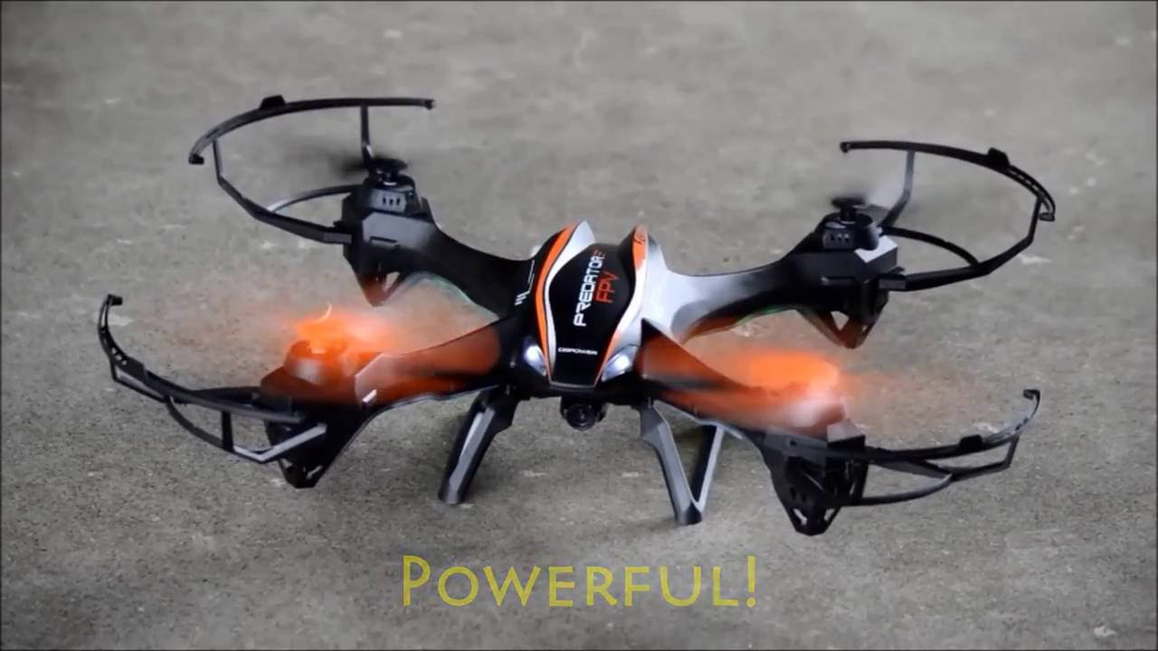 DBPOWER UDI U842 Predator Wifi FPV Drone With HD Camera Review