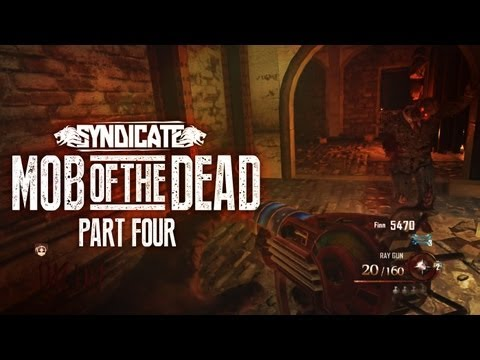 Black Ops 2 Zombies 'Mob Of The Dead' Easter Eggs! Gameplay Live w/Syndicate (Part 4)