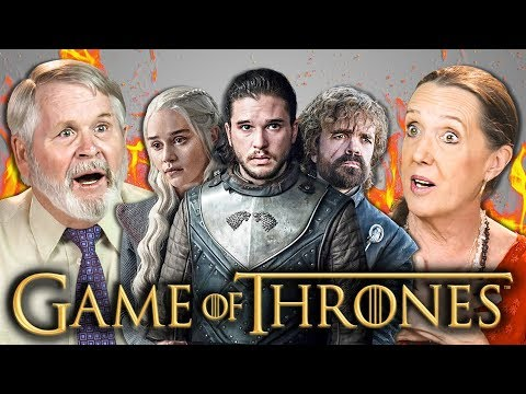ELDERS REACT TO GAME OF THRONES