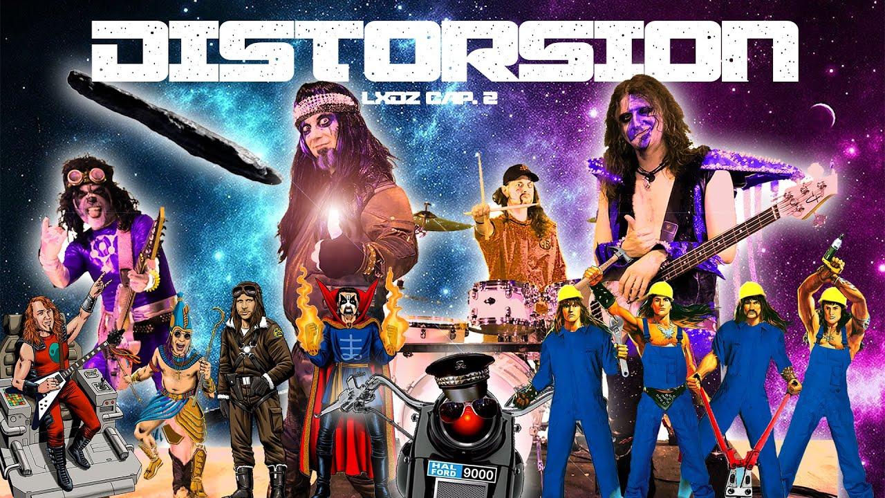 DISTORSIÓN (LXDZ - CAP. 2) by GIGATRON – Featuring Heavys Astronautas (Videoclip Oficial)