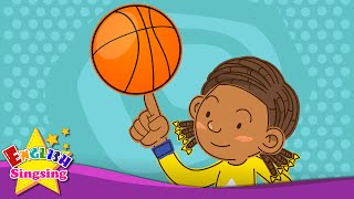 Let's play basketball. Badminton. (Suggestion/Sports) - Rap for Kids - English song with lyrics