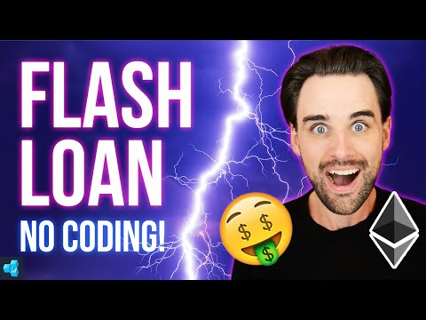 Flash loans with ZERO coding!
