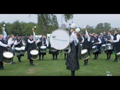 Scottish Power Pipe Band Drum Corps 2018 MSR