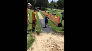 Runner's Camp 2016 - Elliott competes in Long Jump