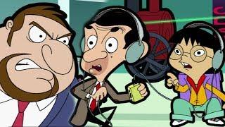 Bouncer Bullies Bean | Funny Clips | Cartoon World