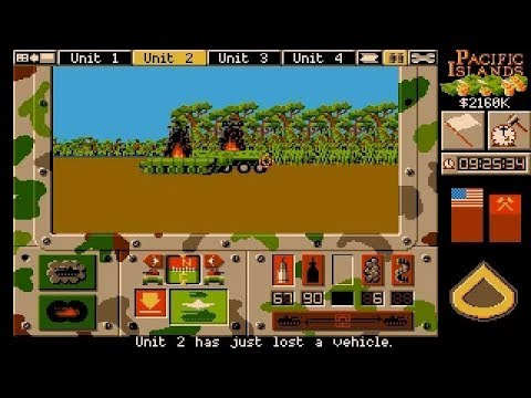 Pacific Islands (PC/DOS) 1992, Empire Software
