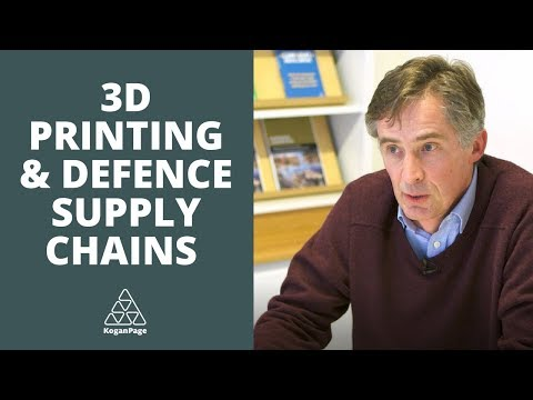 Improve Your Defence Supply Chain with 3D Printing | Jeremy Smith