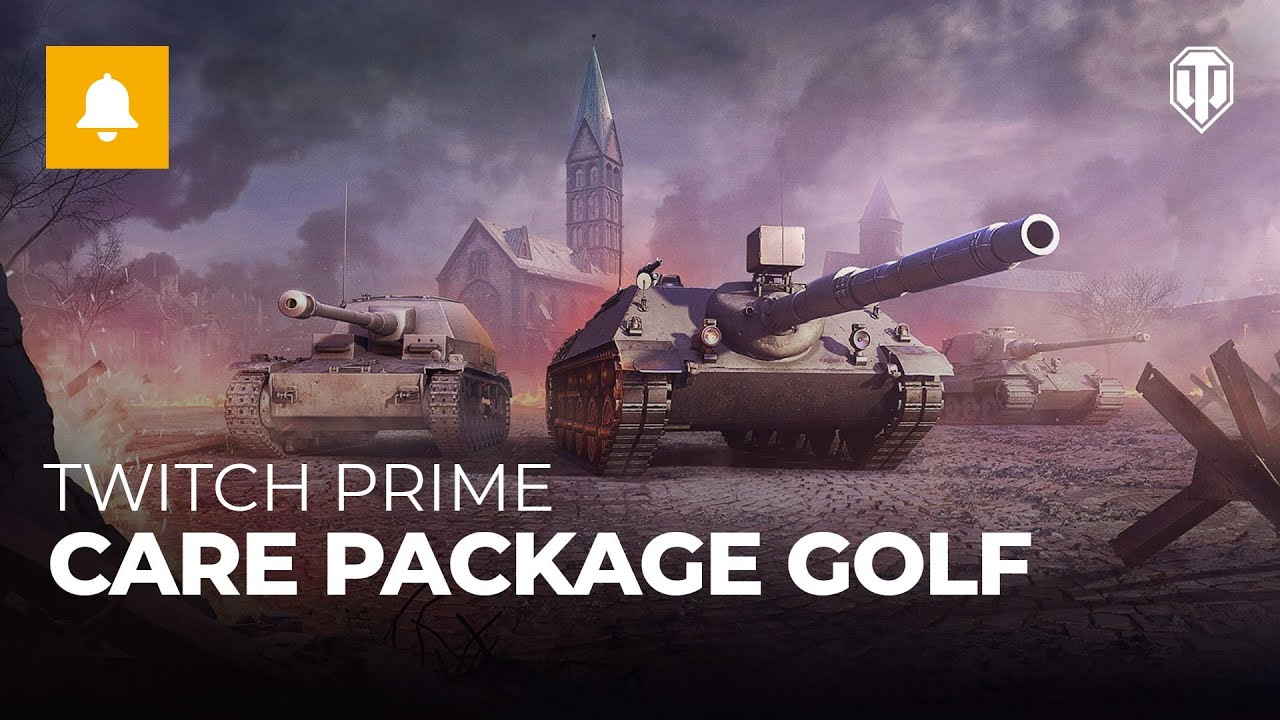 Claim Care Package Golf with Twitch Prime   Special Offers   World