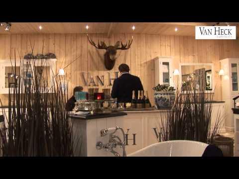 Van Heck Badkamers : Van heck badkamers beurs youtube